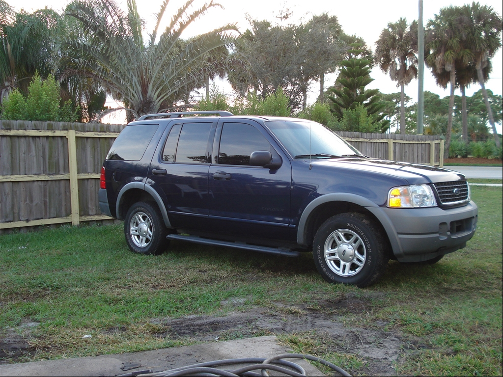 2002 Ford Explorer Exterior Accessories