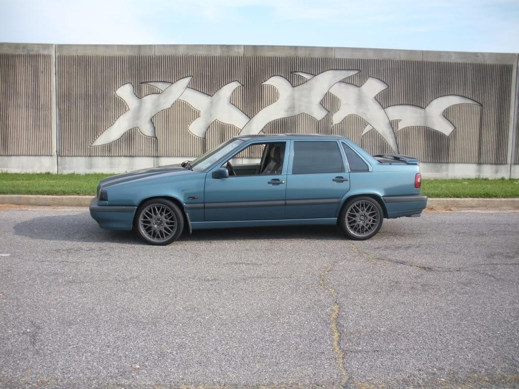 My Volvo 850 T5 6-speed as it