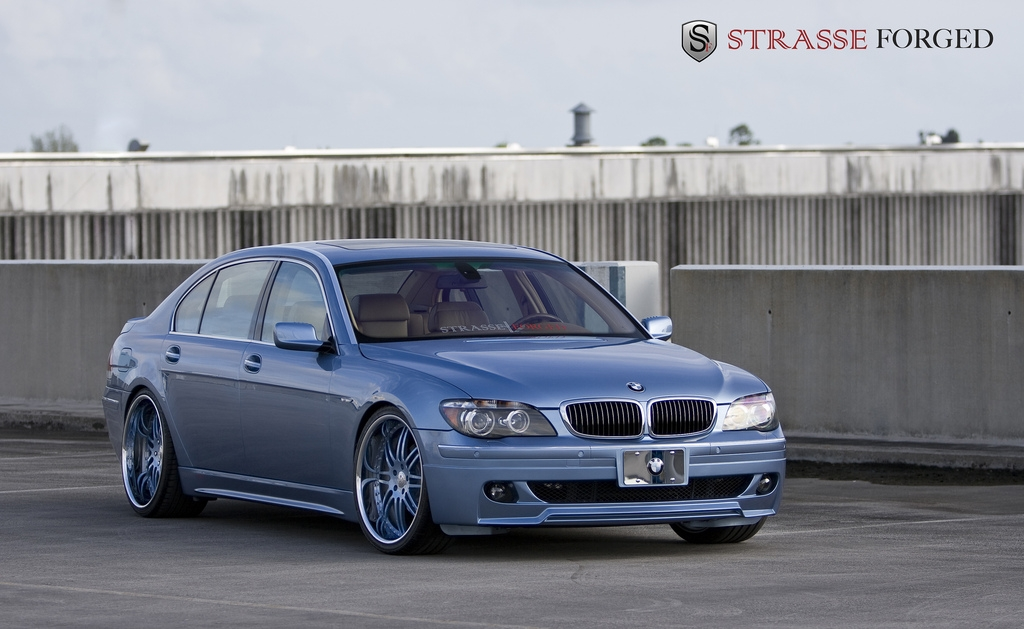 Strasse_Forged 2006 BMW 7 Series Specs, Photos, Modification