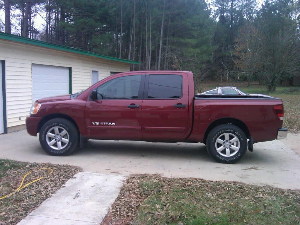 benzgotswag 2008 nissan titan crew cab specs photos modification info at cardomain. Black Bedroom Furniture Sets. Home Design Ideas