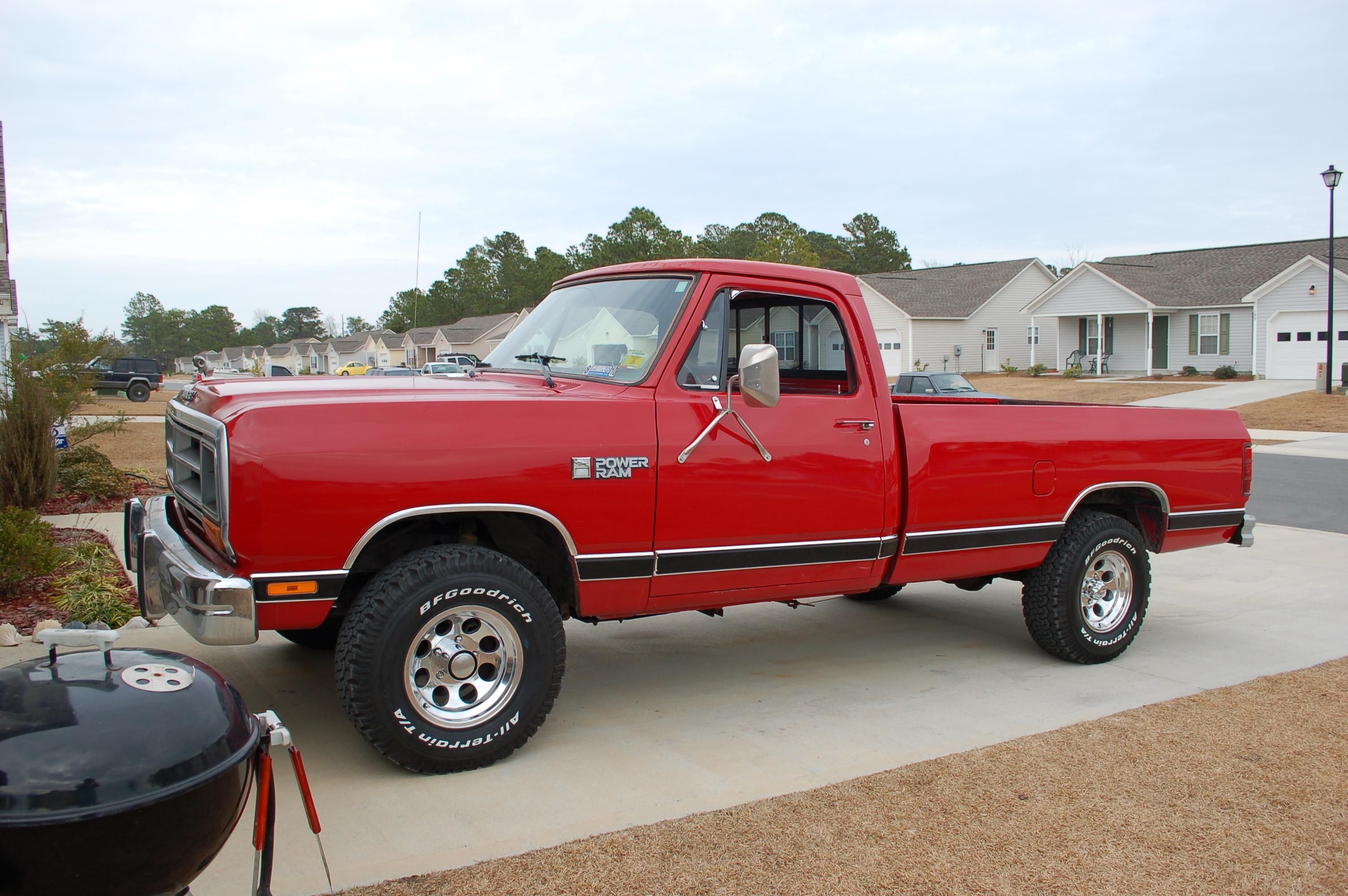 Surfphisher 1986 Dodge W-Series Pickup Specs, Photos, Modification
