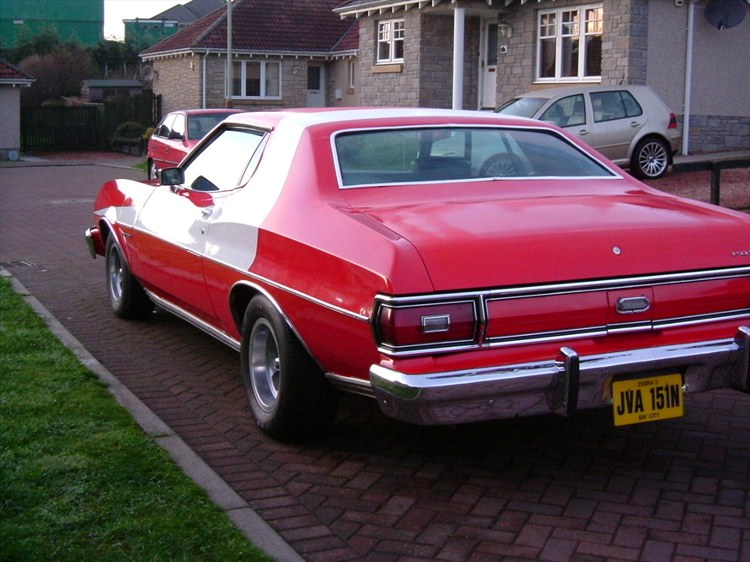 """Starsky and Hutch Car."""
