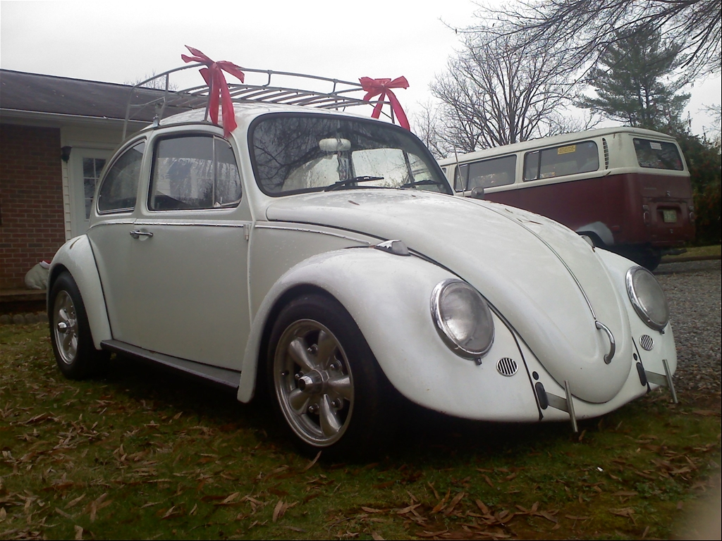 My 67 Bug slight cal look very