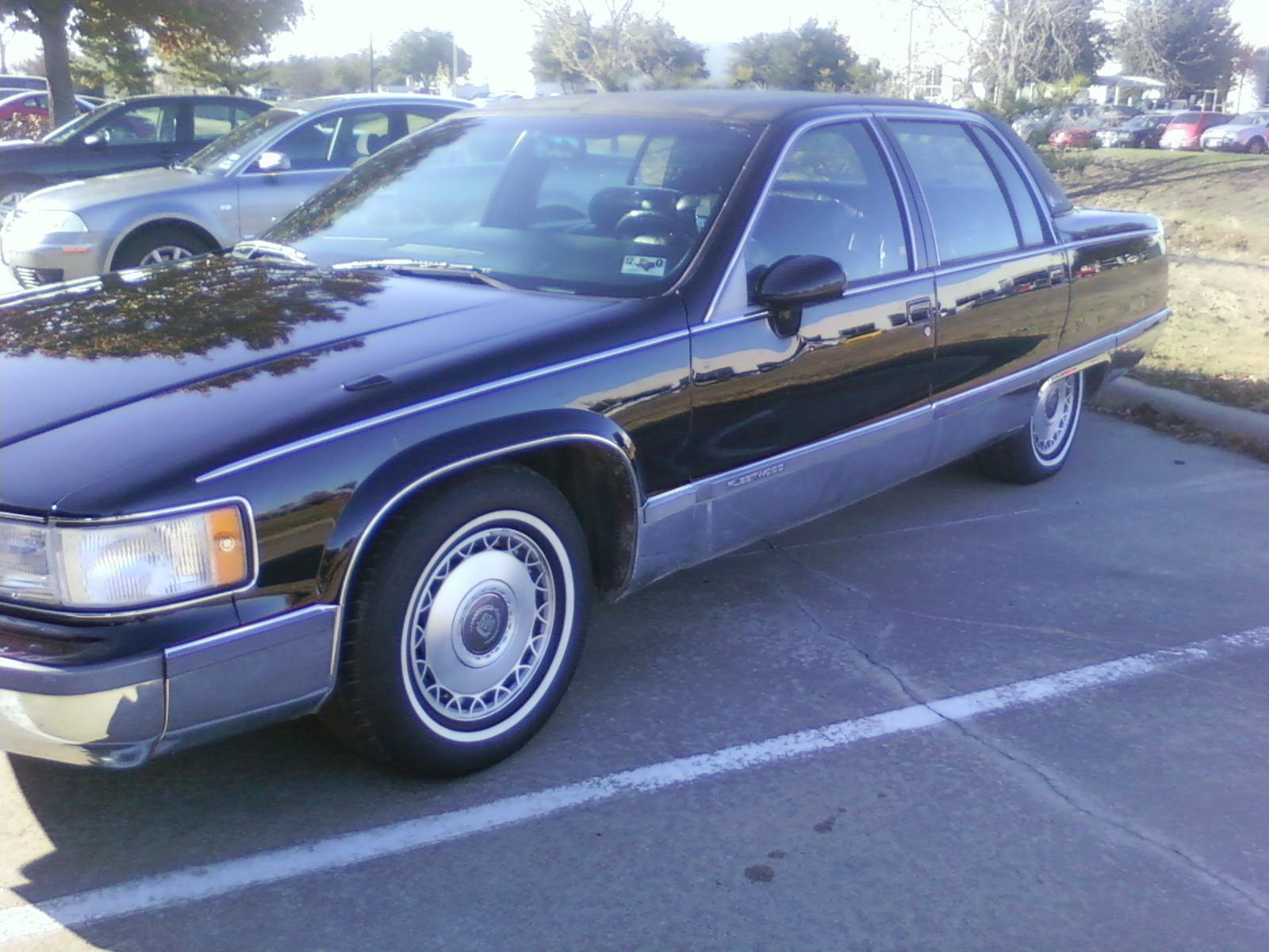vanchopped 39 s 1994 cadillac fleetwood in garland tx. Cars Review. Best American Auto & Cars Review
