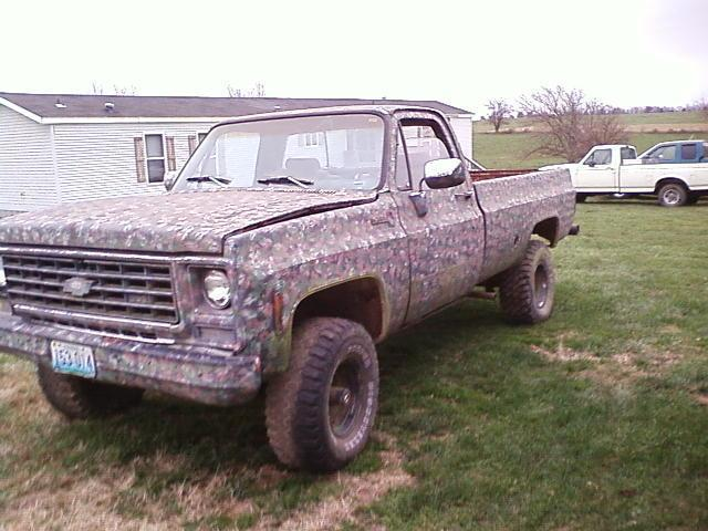 "1980 Chevrolet C/K Pick-Up ""Camo"" - Exeter, MO owned by ChevyPulling ..."