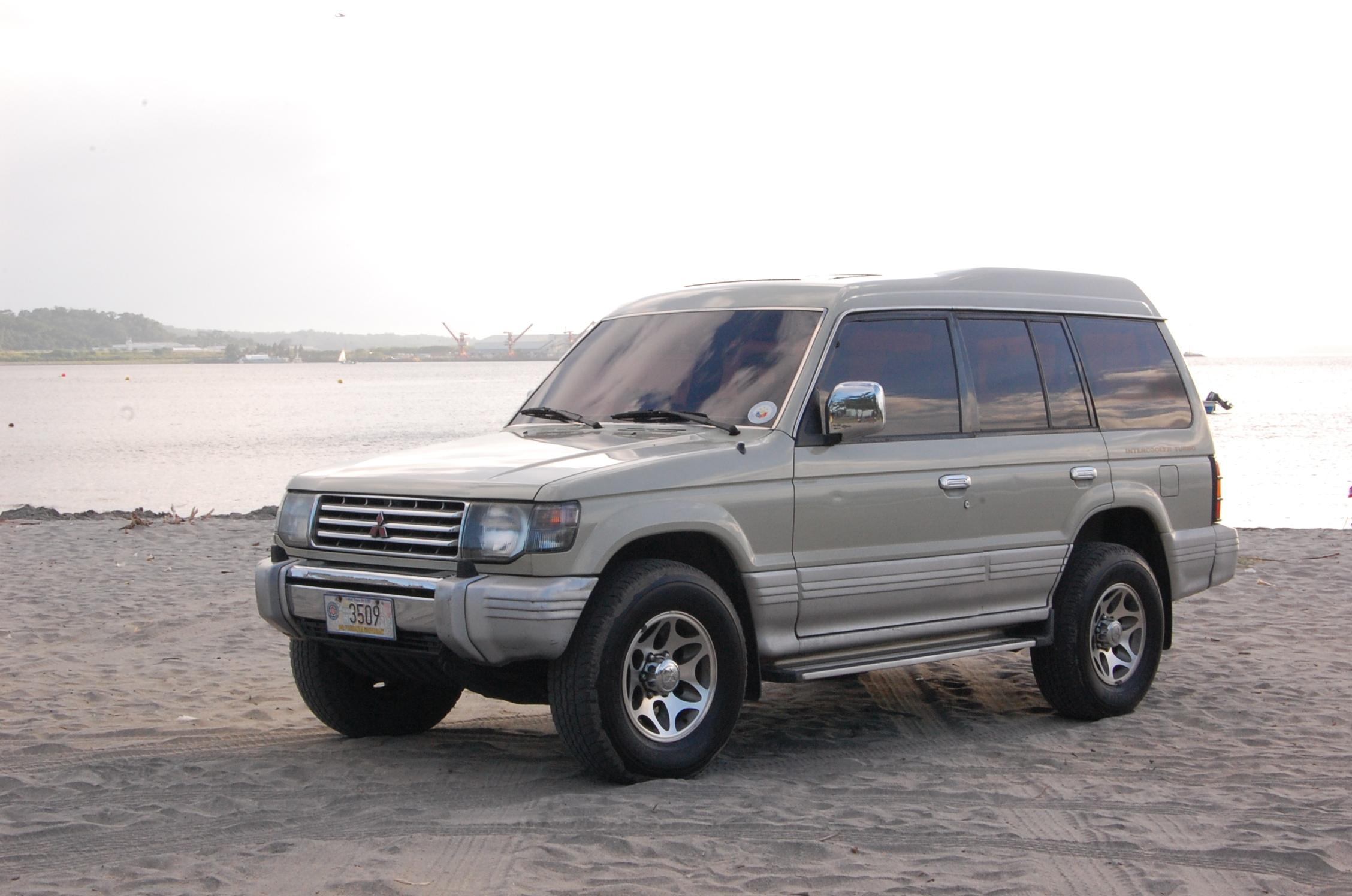 Jsbucoy 1998 Mitsubishi Pajero Specs Photos Modification