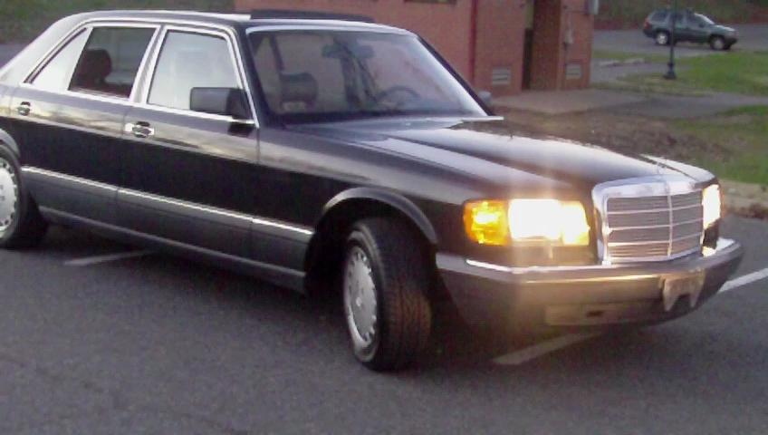 Moneyclipg 1989 mercedes benz 560sel specs photos for Mercedes benz 560sel