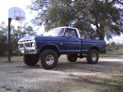 1976ford4x4s 1976 Ford F150 Regular Cab