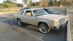 icss 1986 Ford LTD Crown Victoria