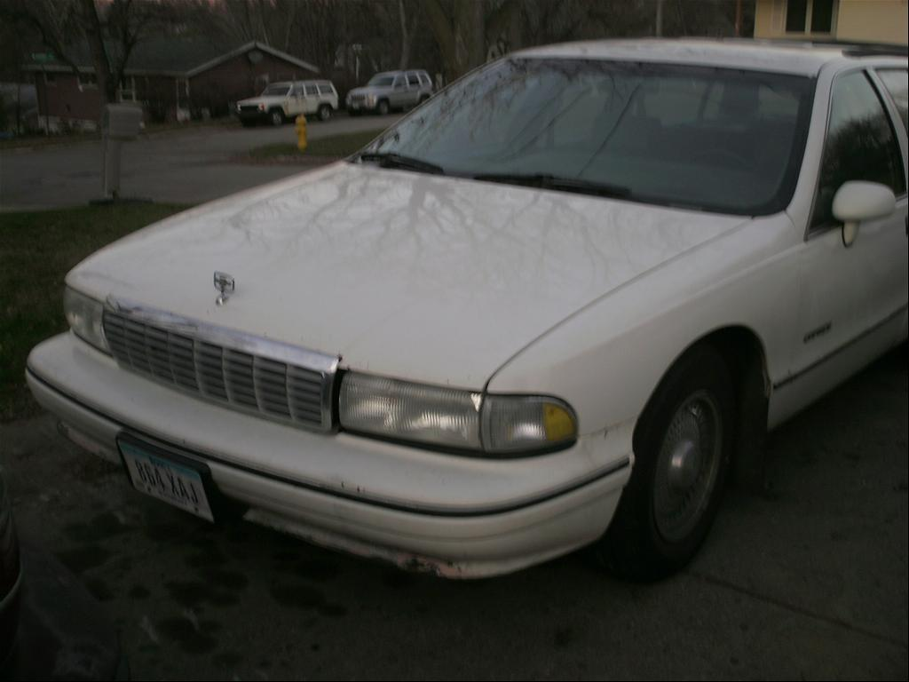 92 chevy caprice with a bone