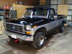 BuiltFordTough85s 1985 Ford F150 Regular Cab