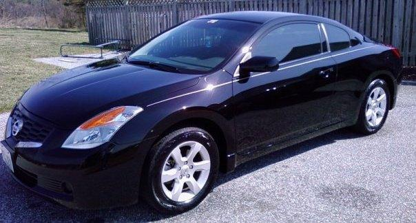 Current Car: 2008 Nissan Altima 2.5S Coupe 6MT Black On Black