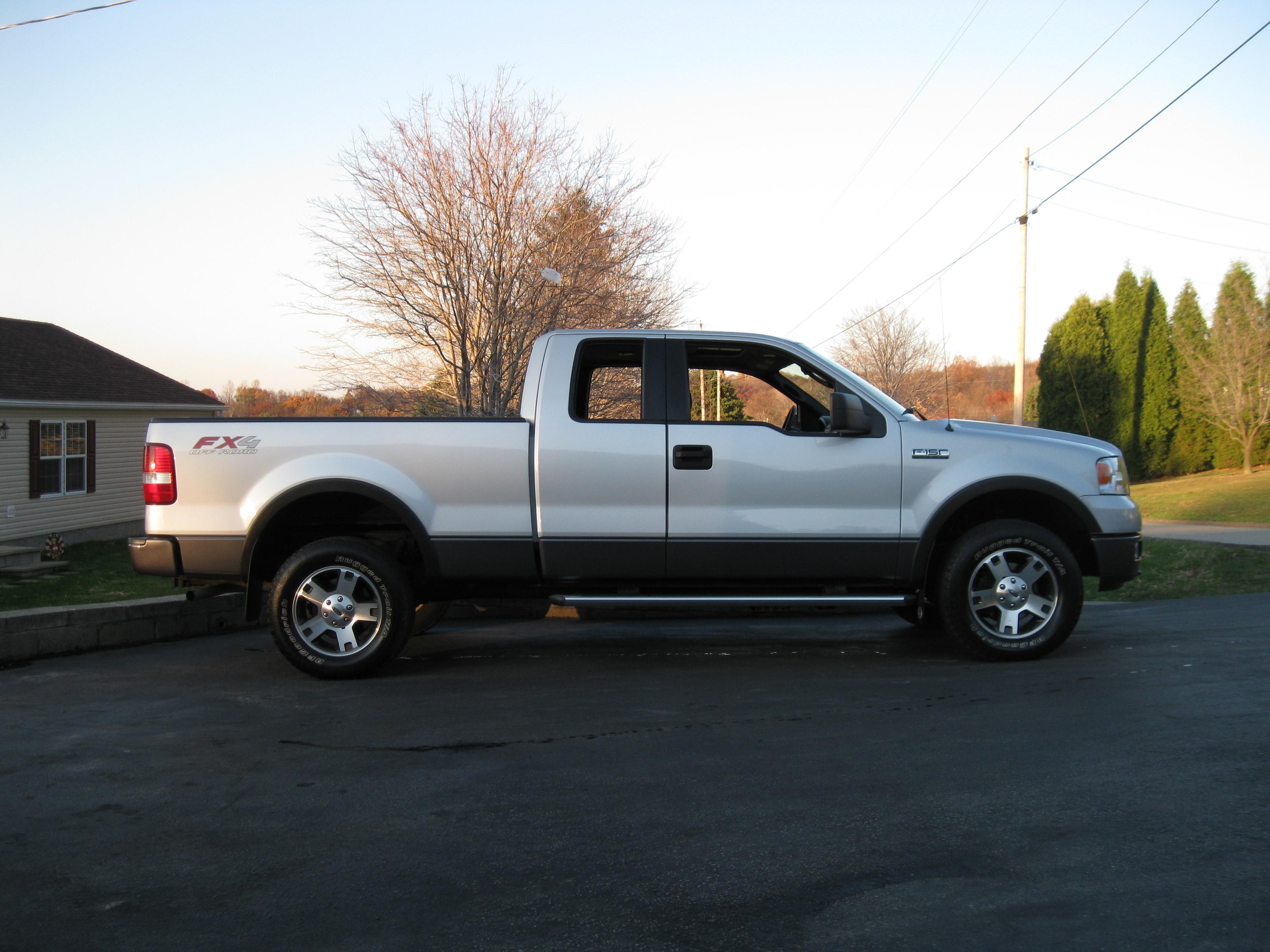 Ford Dude 2005 Ford F150 Super Cabfx4 Styleside Pickup 4d