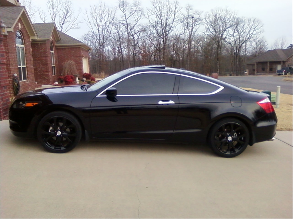 Black 2009 Honda Accord Coupe For Sale