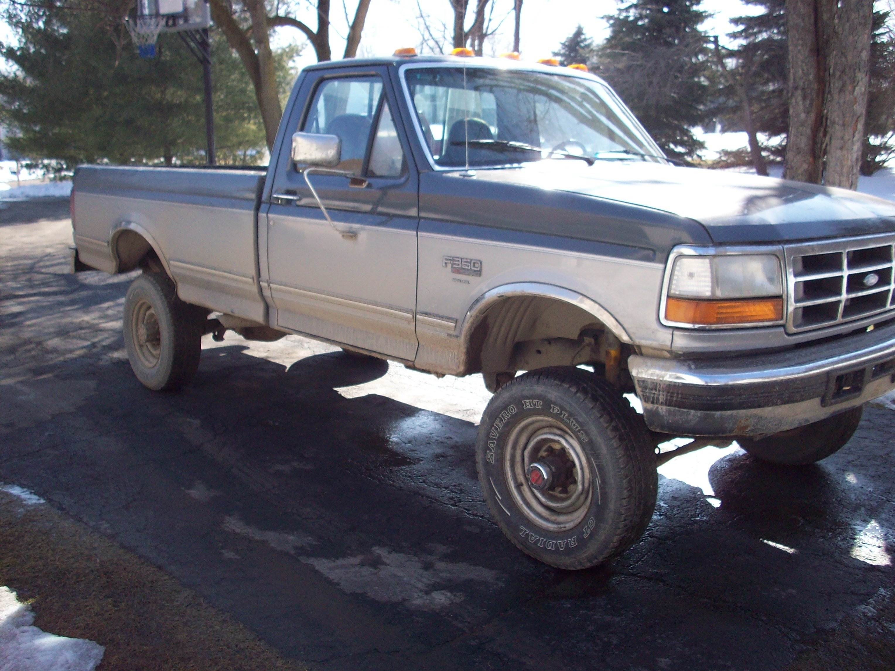 1997 ford f350 dually weight