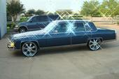 HTOWNFLEETWOODs 1988 Cadillac Fleetwood