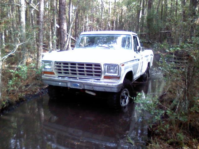 4x4BrahmaCourier 1979 Ford F150 Regular Cab