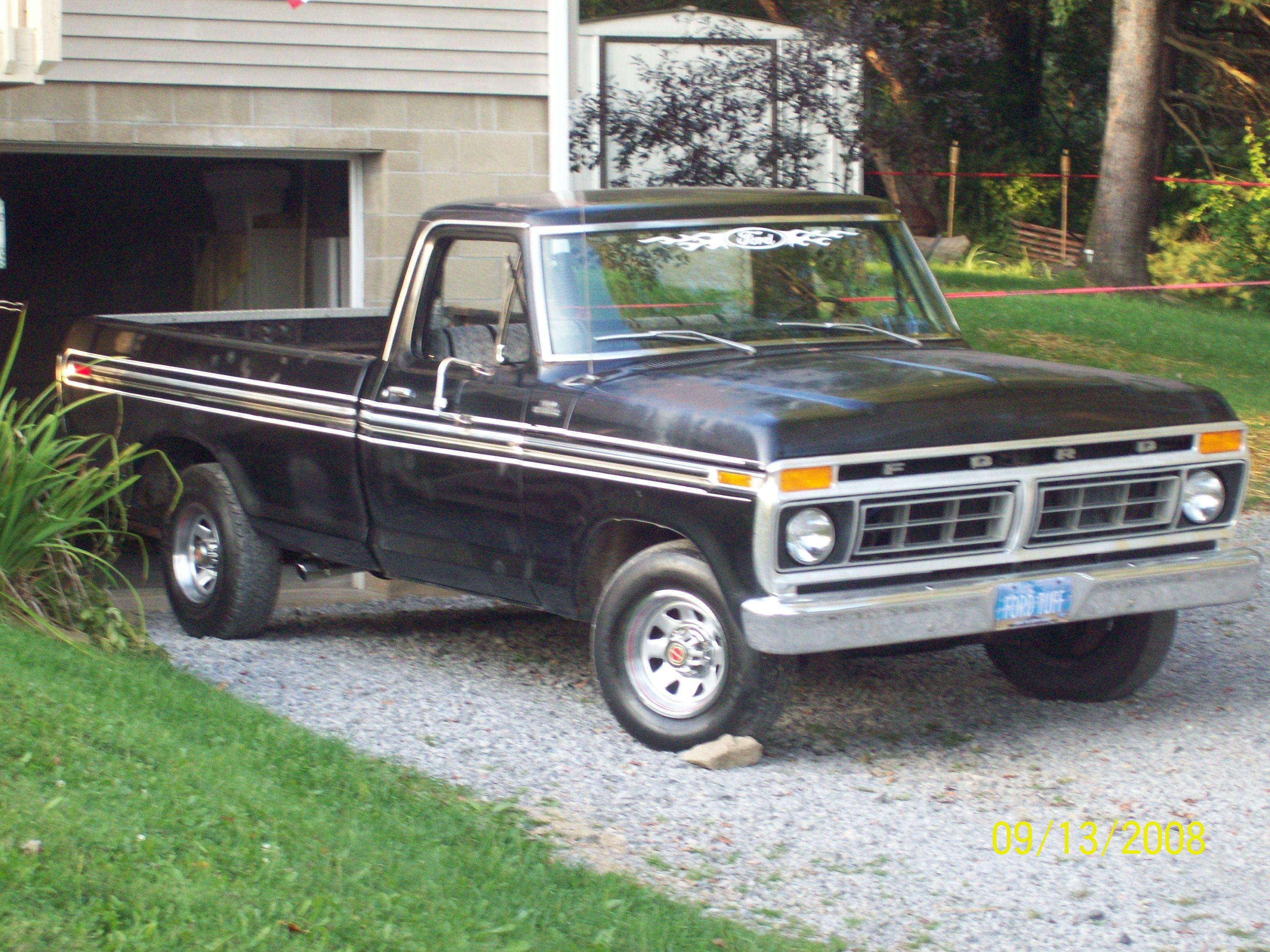 Wiring Diagram For 1977 Ford F100 Pick Up