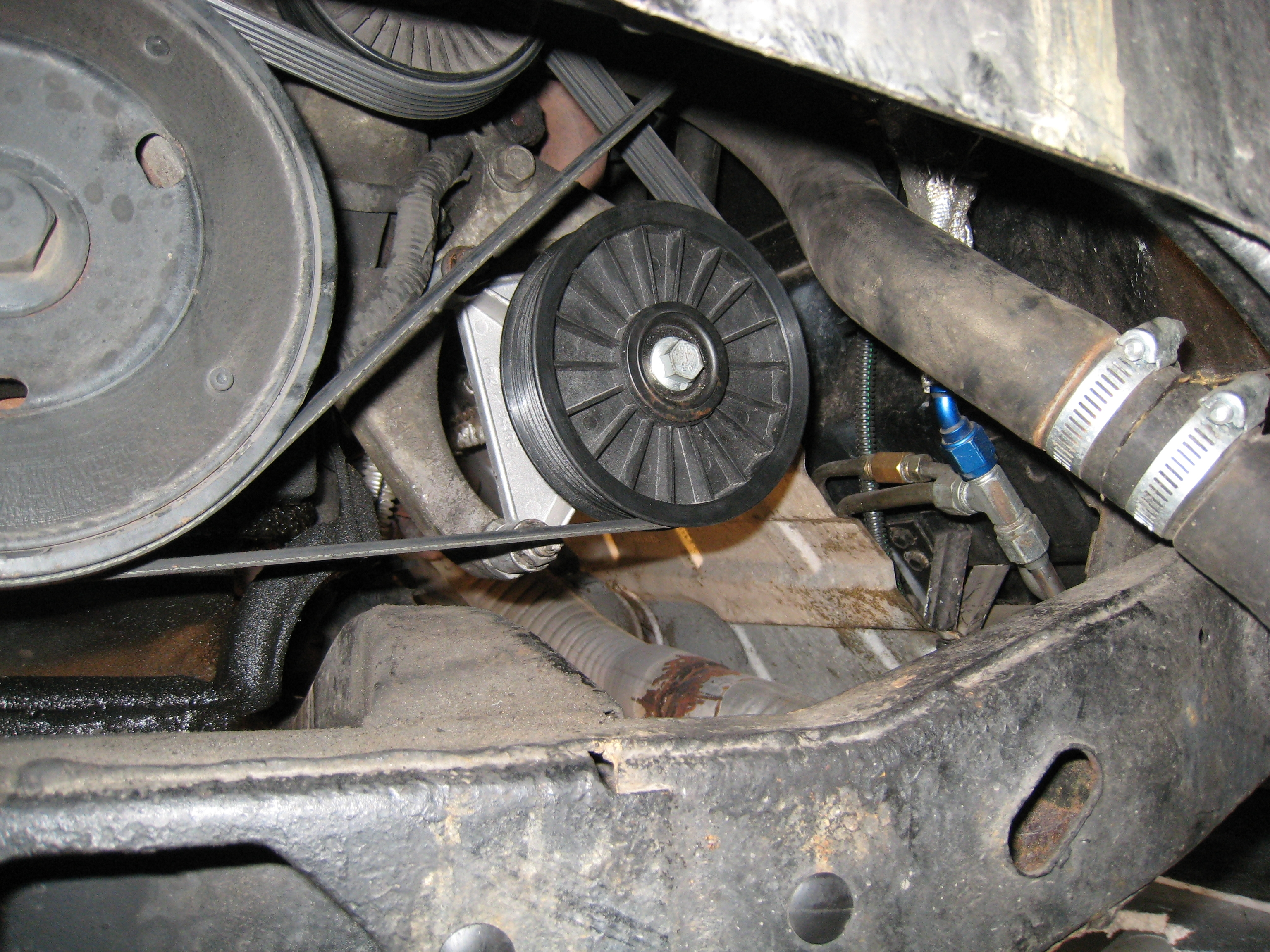 Zzp Pulleys : Another doublec pontiac fiero post by