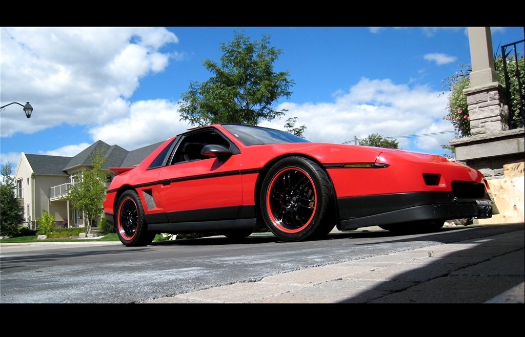 "1986 Pontiac Fiero ""Pontiaction"" - Mississauga, ON owned by ..."