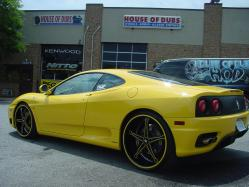 PARKINGLOTKINGs 2003 Ferrari 360 Modena
