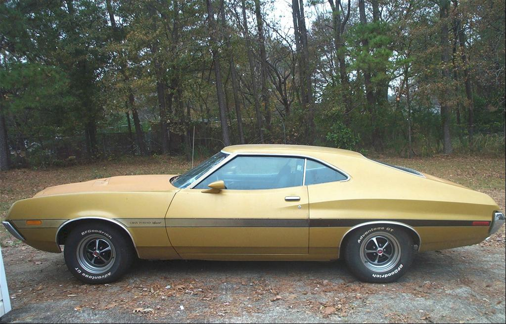 rustyrutherford 39 s 1972 ford gran torino in powder springs ga. Black Bedroom Furniture Sets. Home Design Ideas
