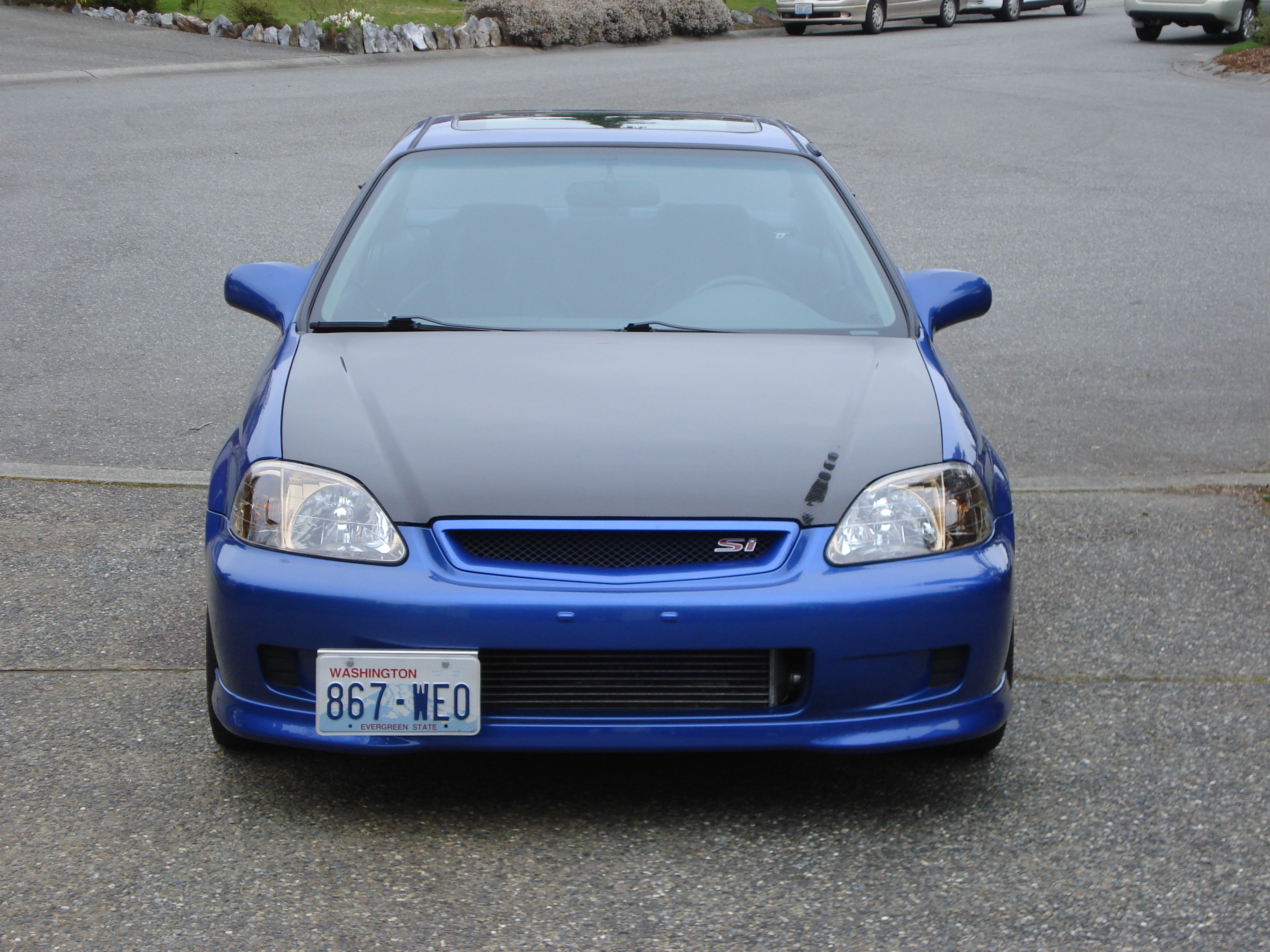 spoonsports94 39 s 2000 honda civic si coupe 2d in lynnwood wa. Black Bedroom Furniture Sets. Home Design Ideas