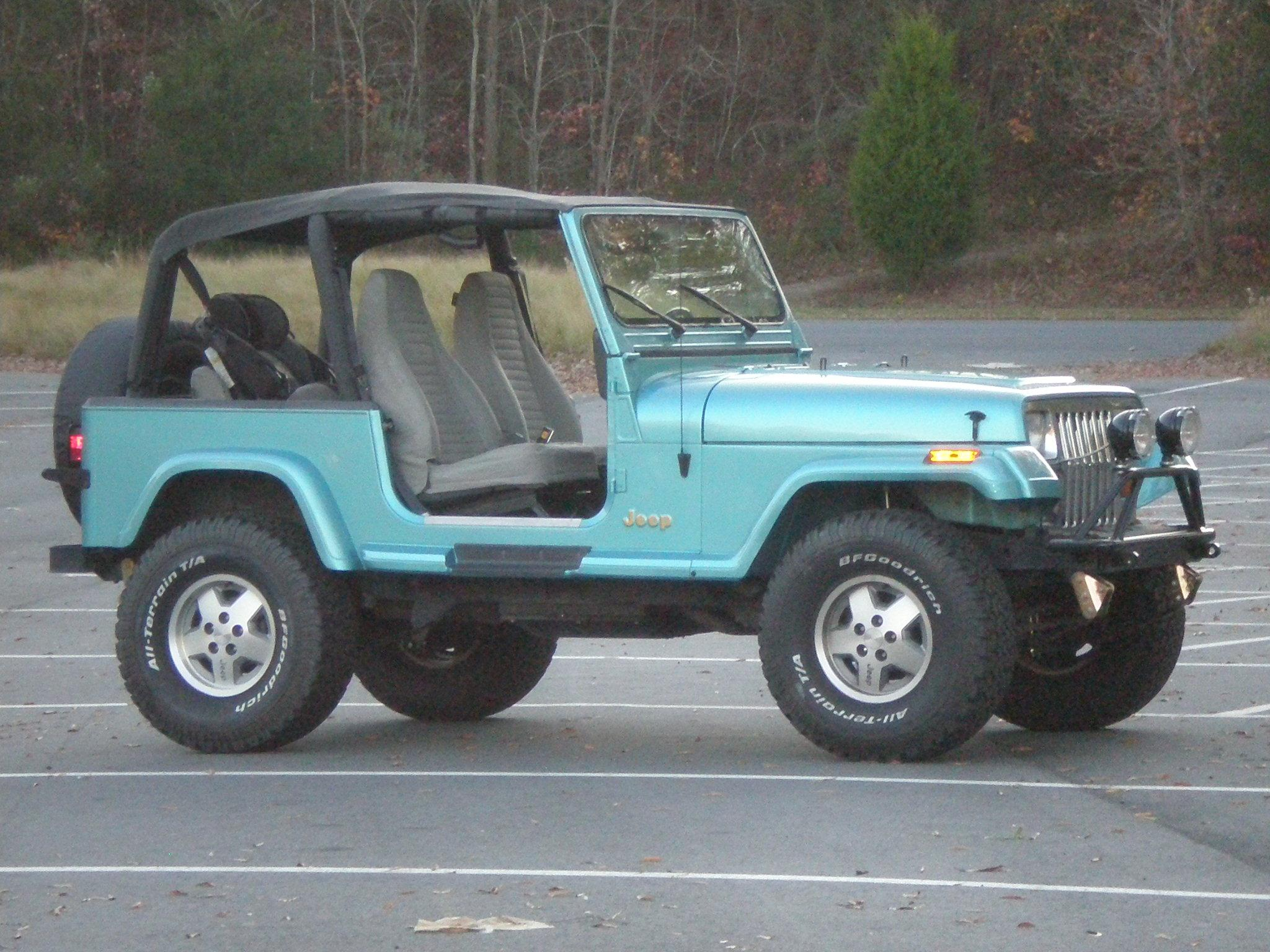 mikeyjm1 1995 jeep yj specs, photos, modification info at cardomain