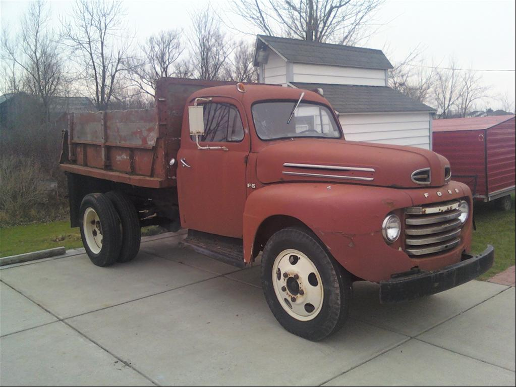"1948 Ford F150 Regular Cab ""F-5 Dump truck"" - lancaster, NY owned by"