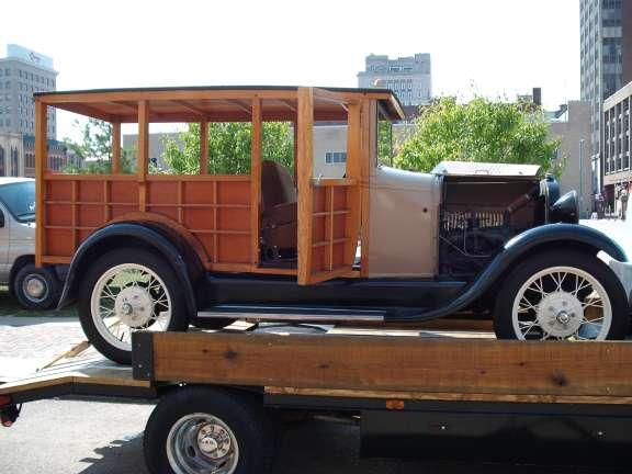 """1929 Ford """"A"""" DeLuxe Delivery"""