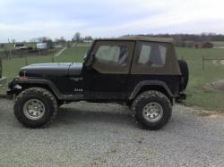 2007blackC6s 1992 Jeep Wrangler