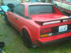 robbymr2s 1985 Toyota MR2