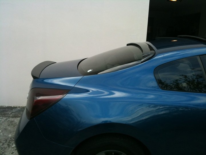 Nissan Altima Coupe Spoiler Gallery Of What Does A Spoiler Do With