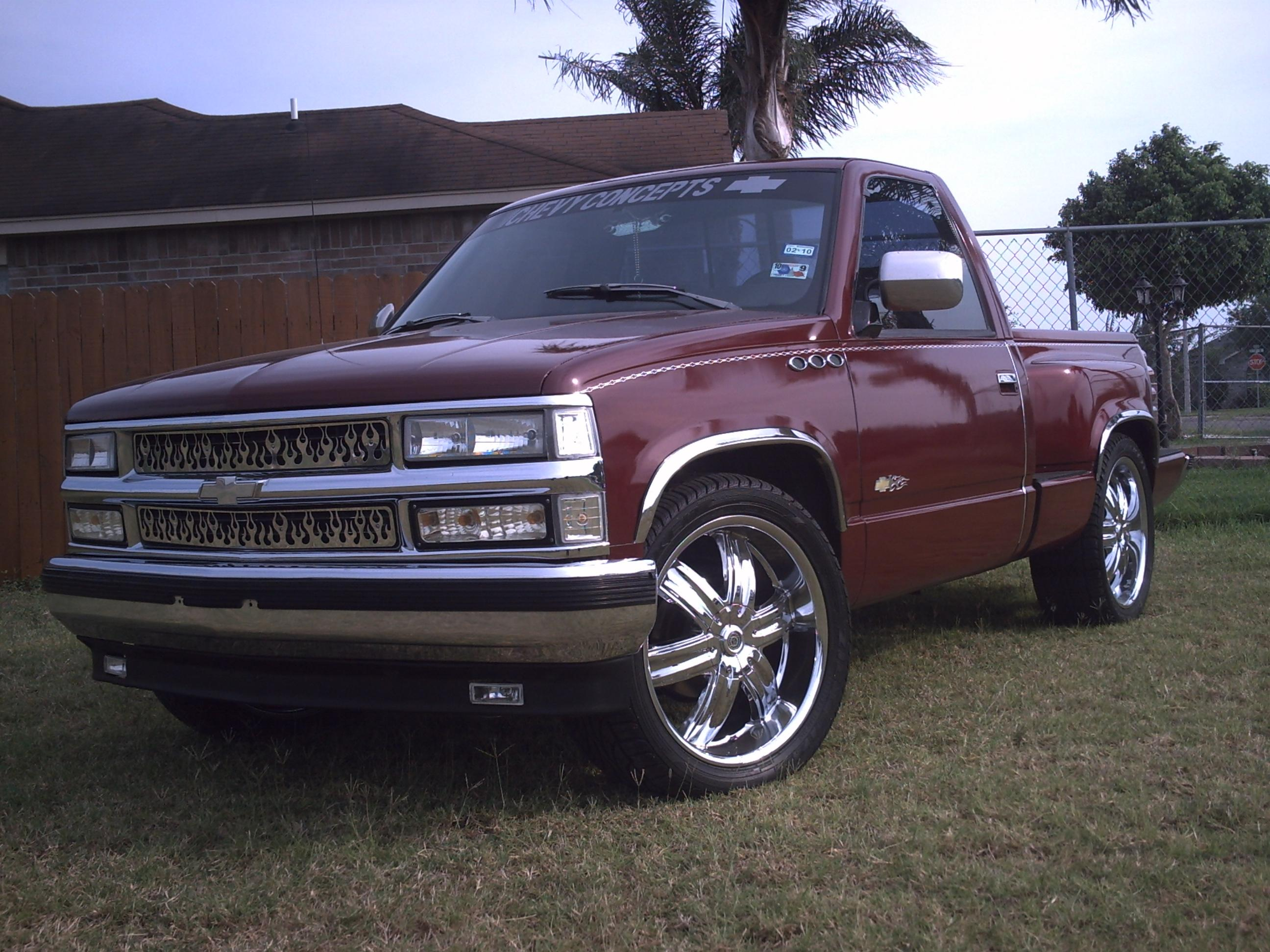 CHEVYCONCEPTS93 1993 Chevrolet C/K Pick-Up Specs, Photos ...