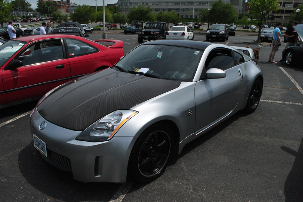 giftednimrod 2003 nissan 350z specs photos modification. Black Bedroom Furniture Sets. Home Design Ideas