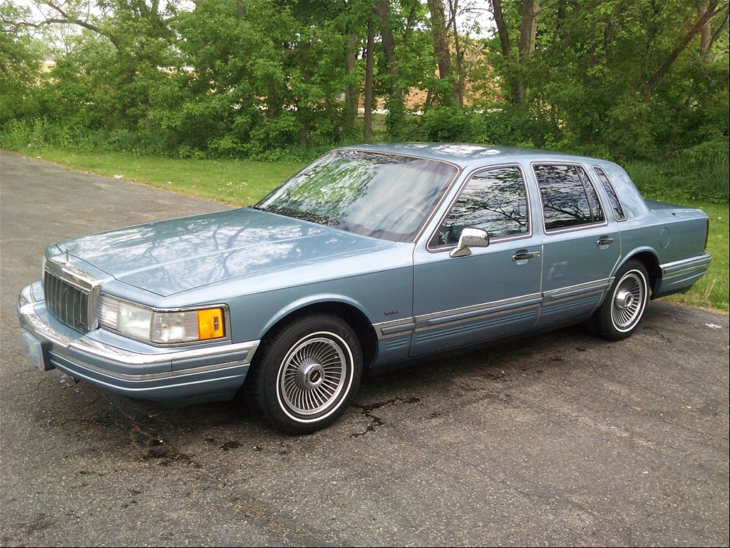 1990 Lincoln Town Car Related Infomation Specifications