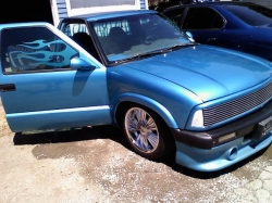 ghettocreations 1995 Chevrolet S10 Regular Cab