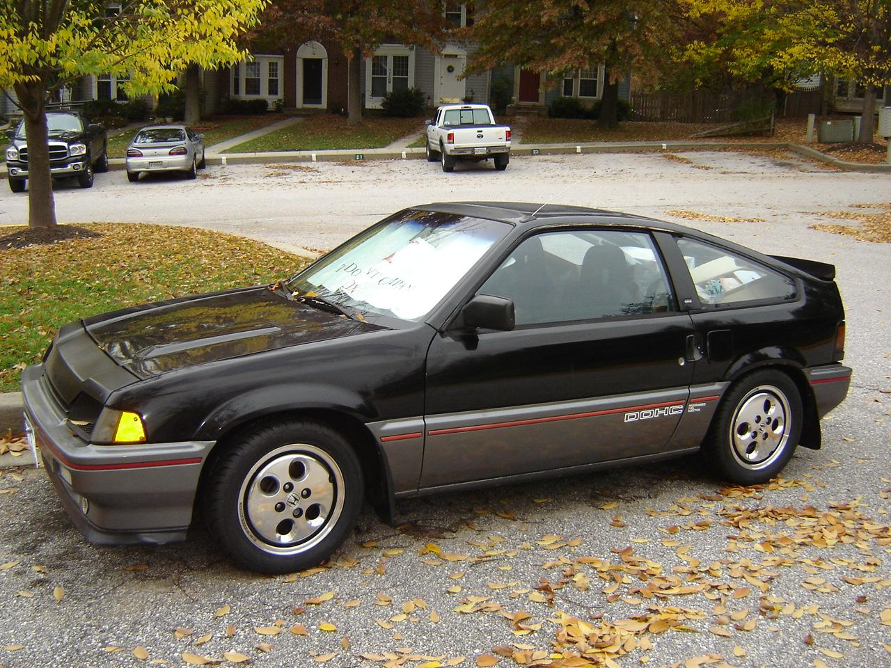 85sirex 1985 honda crx specs photos modification info at. Black Bedroom Furniture Sets. Home Design Ideas