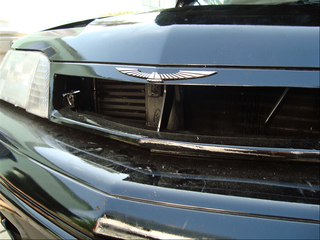 custom grille for more air
