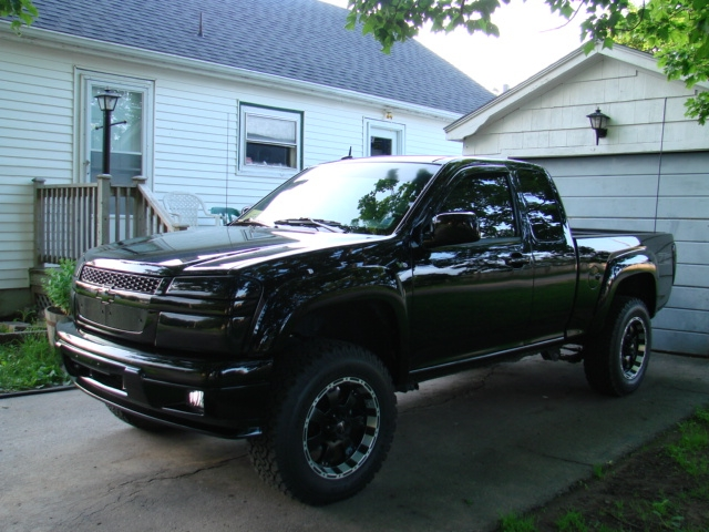 Back In Black 2009 Chevrolet Colorado Regular Cab Specs