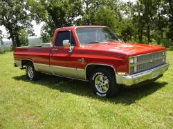1982 Chevrolet Silverado 1500 Regular Cab