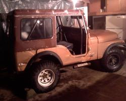 Project Goldielocks 1974 CJ5