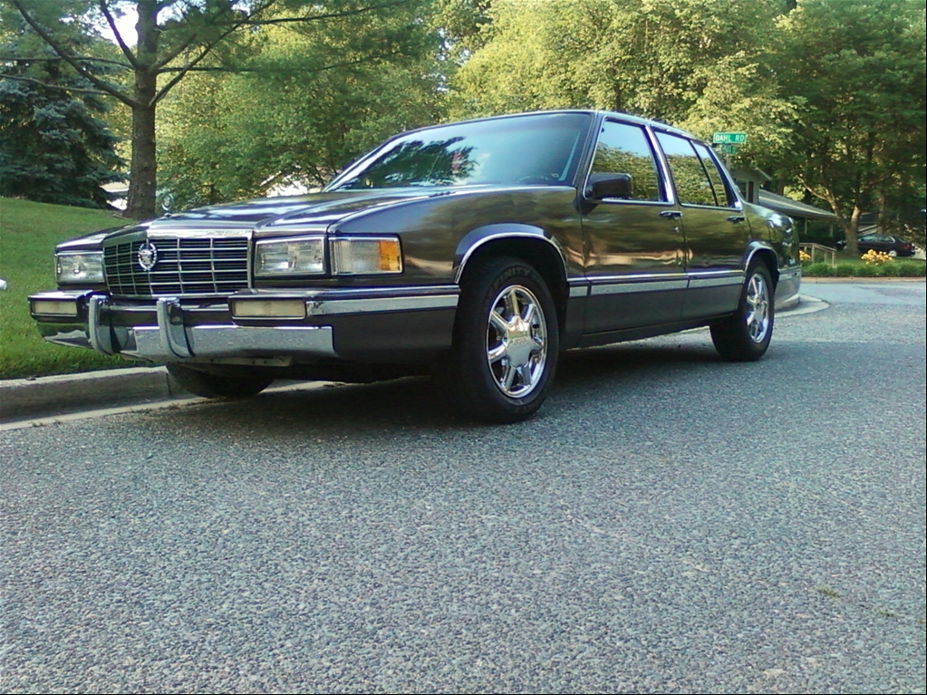 tylerramone 39 s 1992 cadillac deville in washington dc. Cars Review. Best American Auto & Cars Review