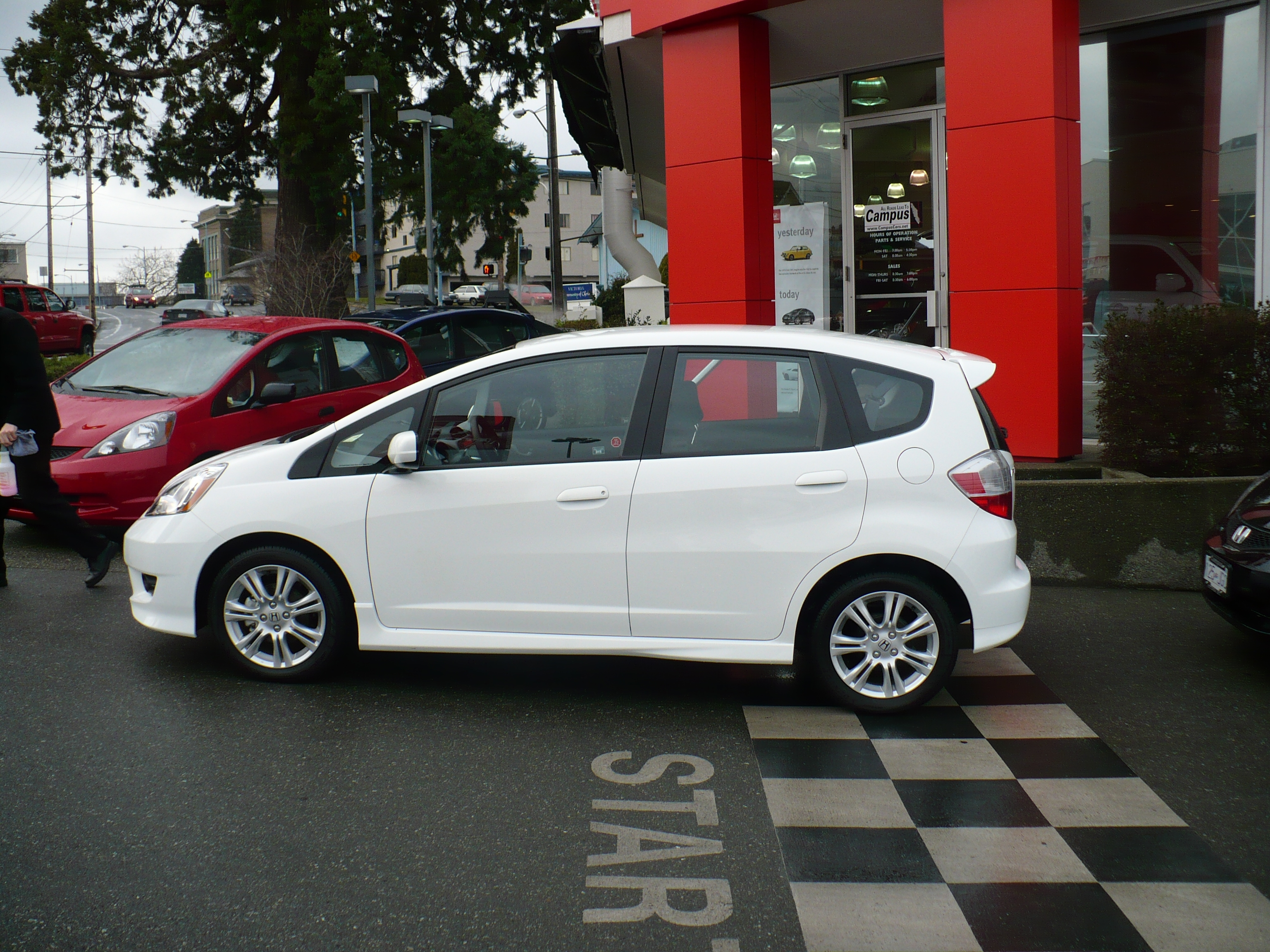 narrator's 2009 Honda Fit