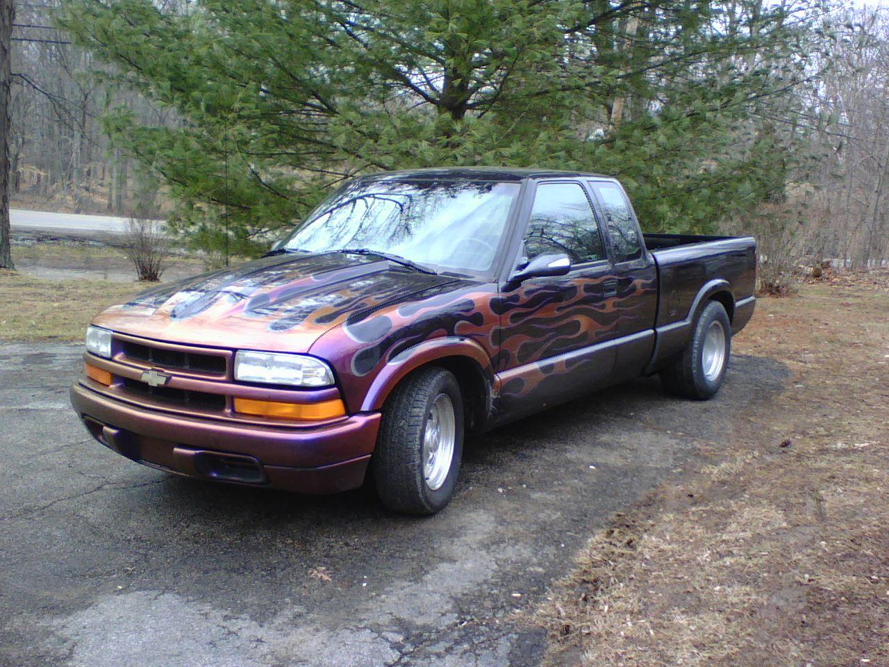 flamed98sdime 1998 chevrolet s10 regular cab specs photos modification info at cardomain. Black Bedroom Furniture Sets. Home Design Ideas