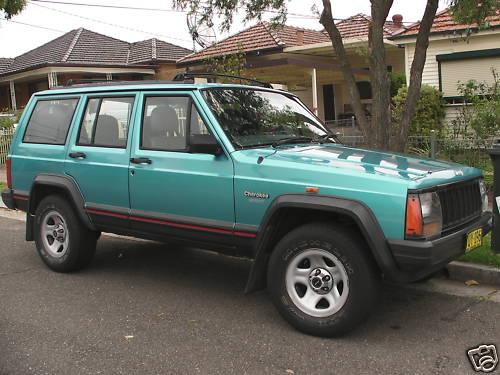 rx3gt 1995 Jeep Cherokee