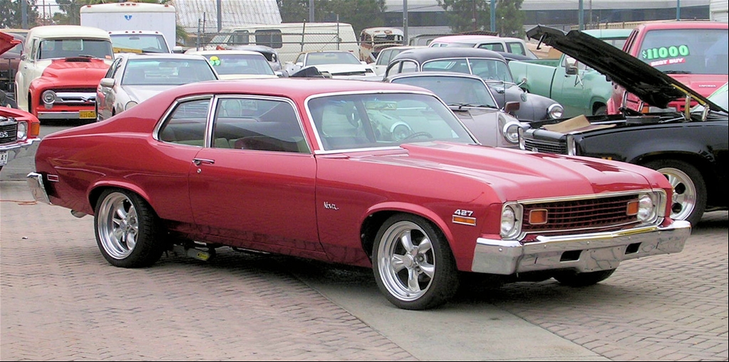 74 Chevy Nova Hatchback http://www.zcoches.com/fotos/chevy-nova-hatchback-74