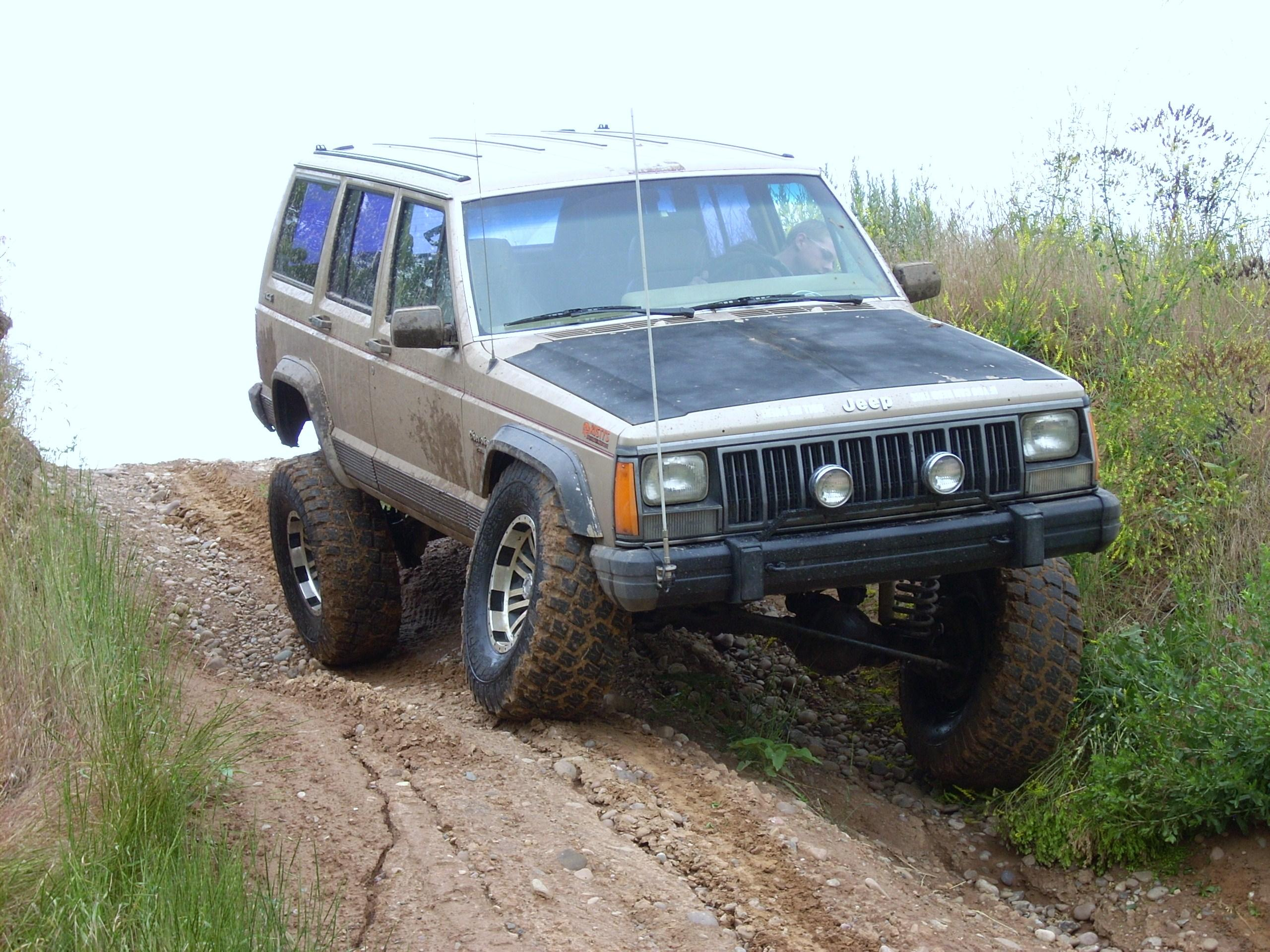 bluespeedwolf 1990 jeep cherokeesport utility 4d specs photos modification info at cardomain. Black Bedroom Furniture Sets. Home Design Ideas