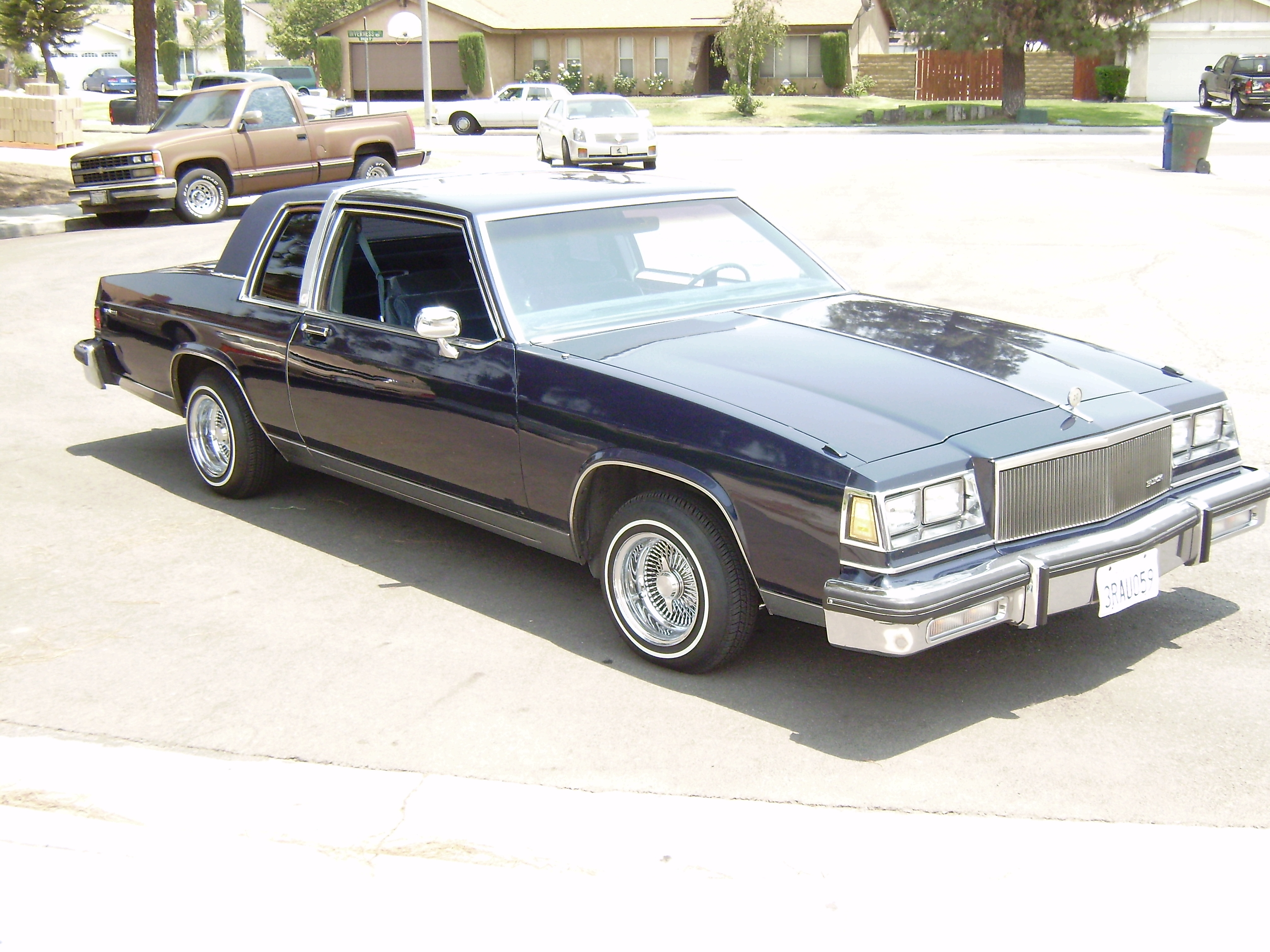 Original on 1985 Buick Lesabre Collectors Edition