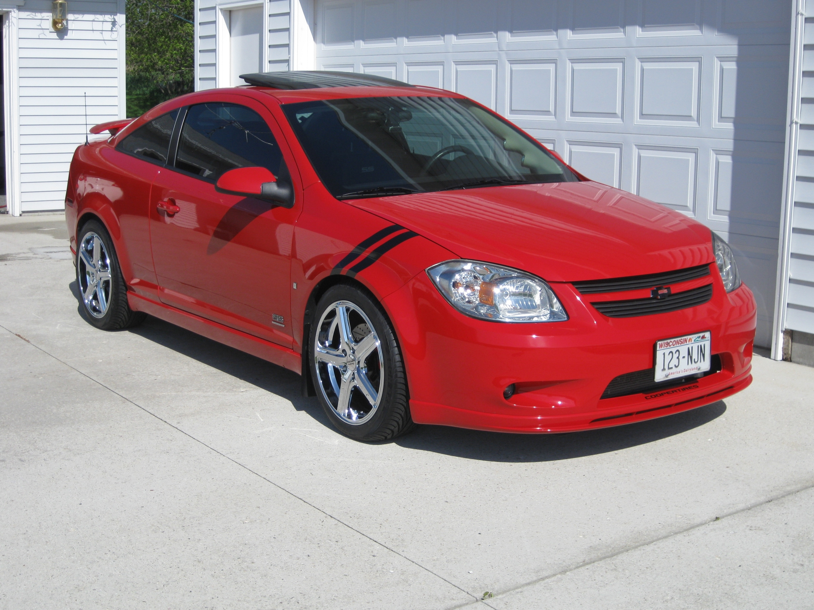 Blacksct 2007 Chevrolet CobaltSS Supercharged Coupe 2D Specs